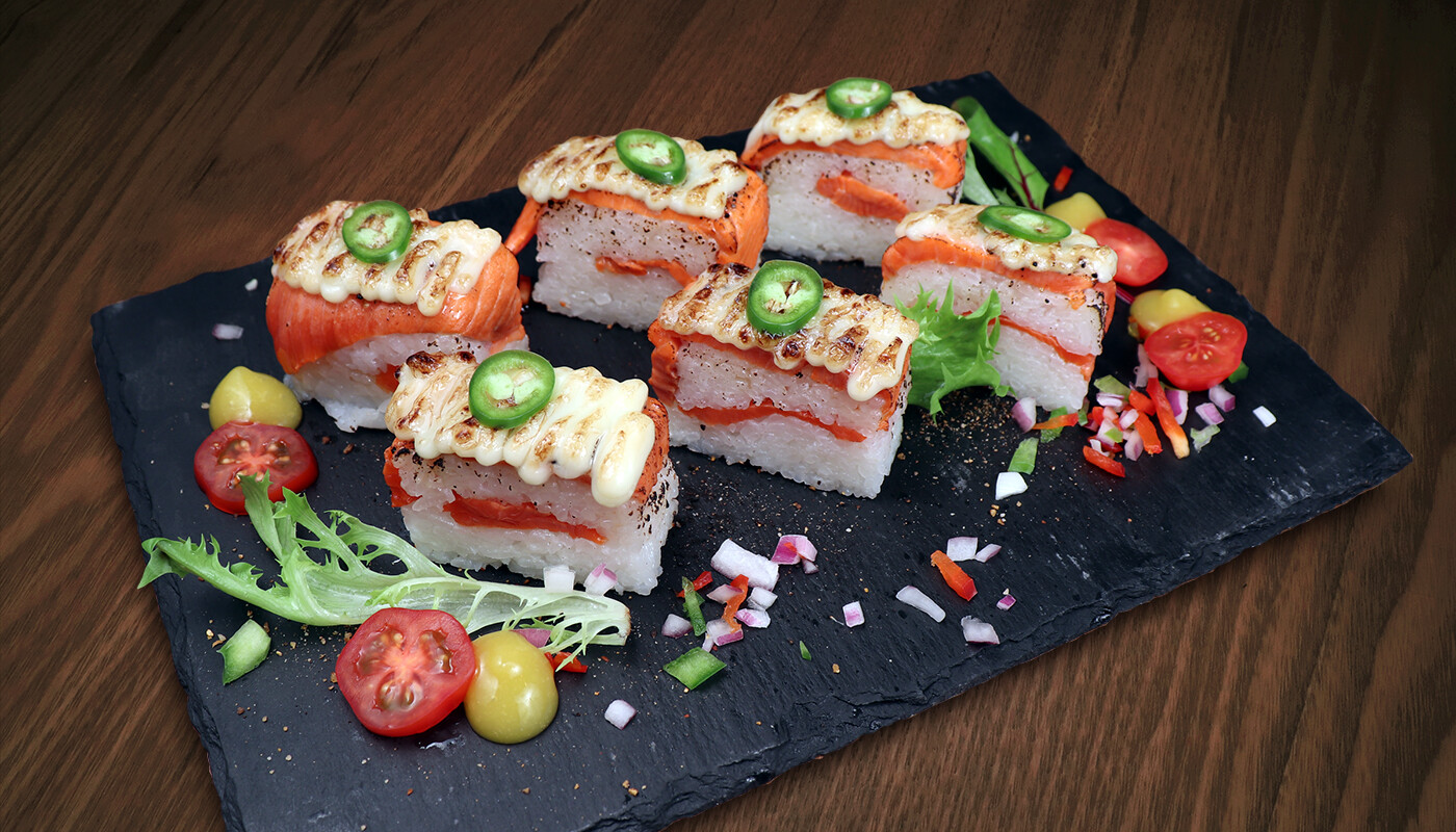 Sockeye Salmon Oshi