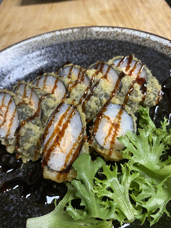 Fried Salmon Roll