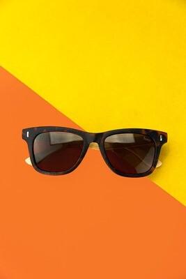 Óculos de sol marrom - Viela17 Shop