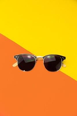 Óculos de sol estilo clubmaster - Viela17 Shop