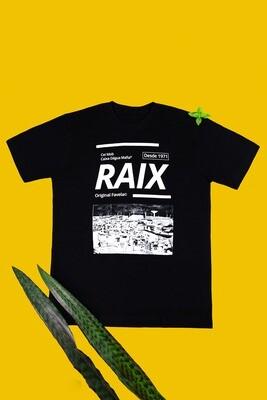 Camiseta preta panorama de Ceilândia - RAIX