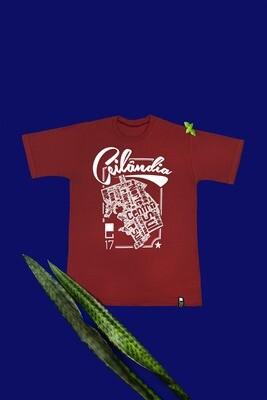 Camiseta vinho Ceilandia - Viela17 Shop