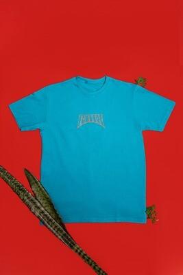 Camiseta azul Cria da Quebrada - RAIX
