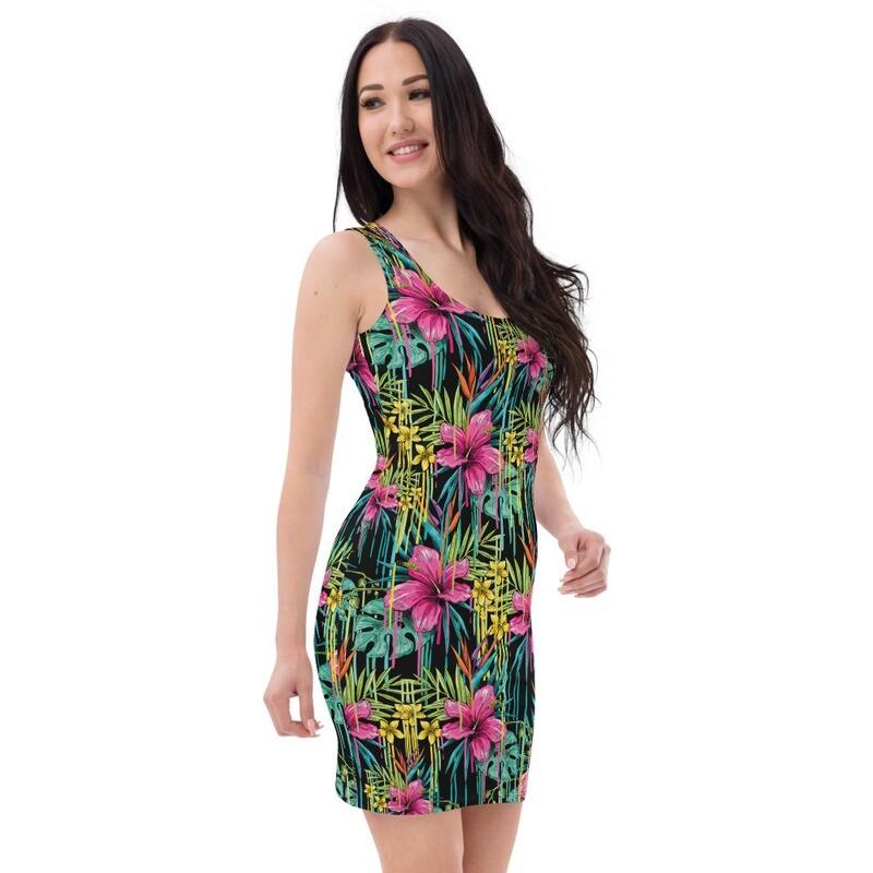 Sublimation Cut & Sew Dress- Floral