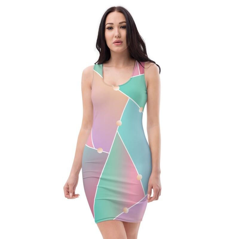 Sublimation Cut & Sew Dress -3D
