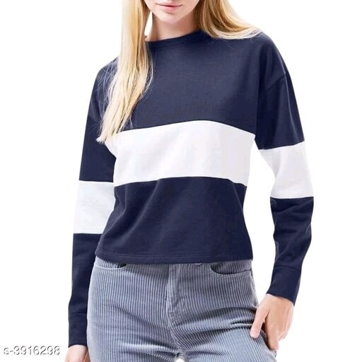 Eva Solid Women's Sweatshirts
