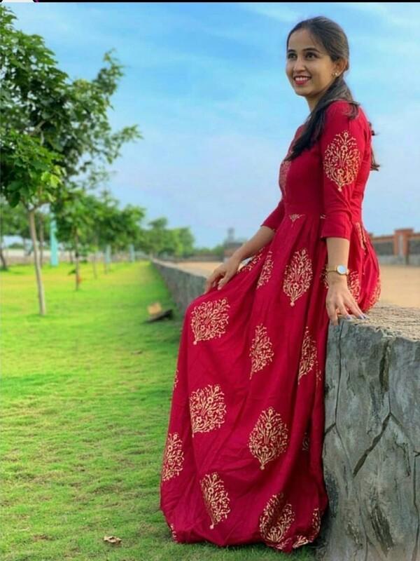 RED ROYAL DRESS