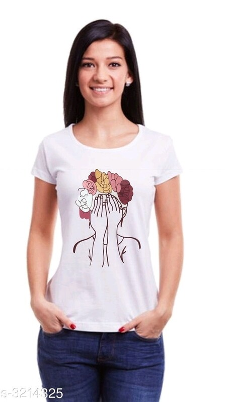 Attractive Cotton Women's Tshirts