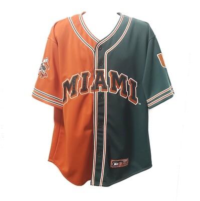 Miami Hurricanes Baseball Jersey