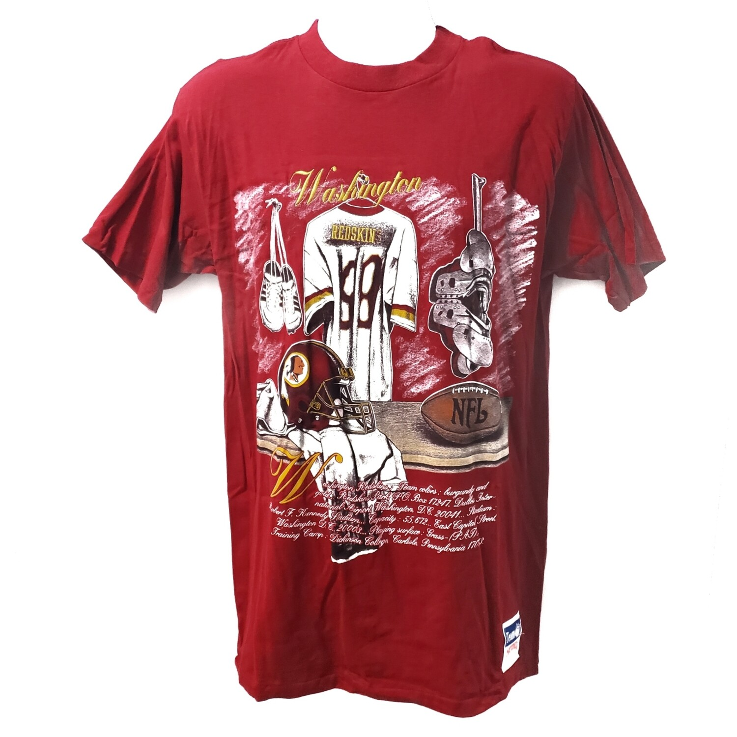 Washington Redskins Vintage Nutmeg Tee