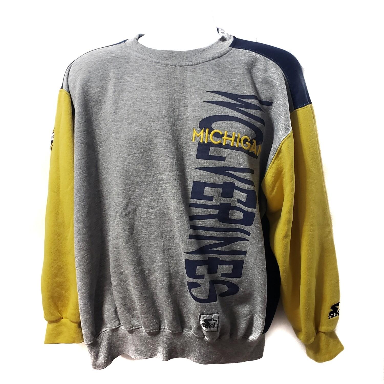 Michigan Wolverines Starter Sweatshirt