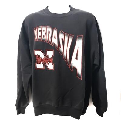 Nebraska Huskers Crew Neck Sweatshirt