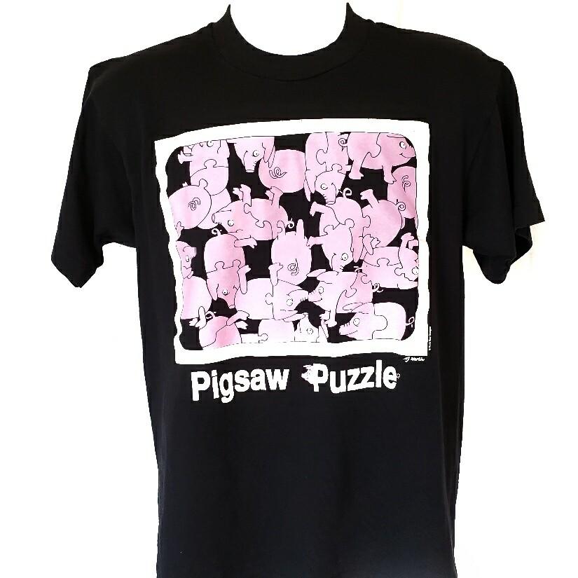 Pigsaw Puzzle Single Stitch Shirt