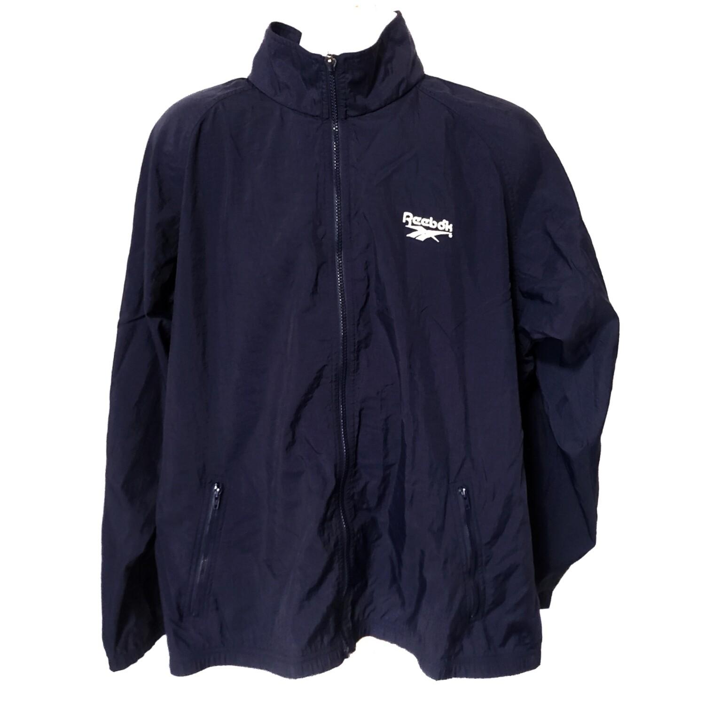Reebok Navy Blue Windbreaker Jacket