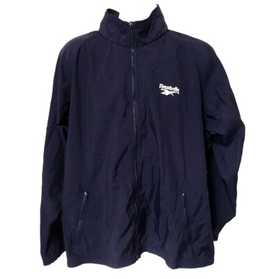 Reebok Navy Blue Windbreaker Jacket