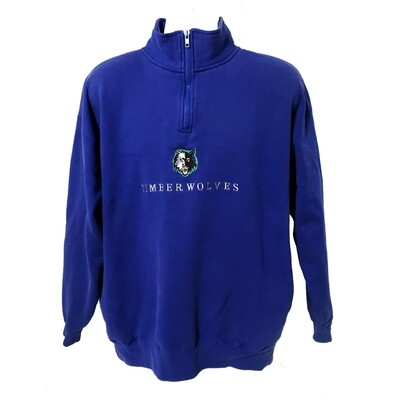 Minnesota Timberwolves Quarter Zip Sweater