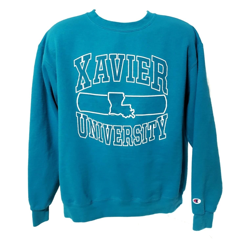 Xavier University Champion Crewneck Sweater