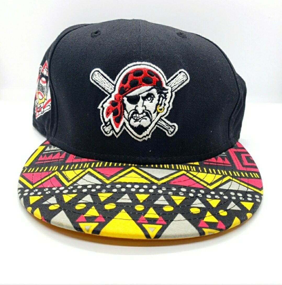 Pittsburgh Pirates Aztec Snapback Hat
