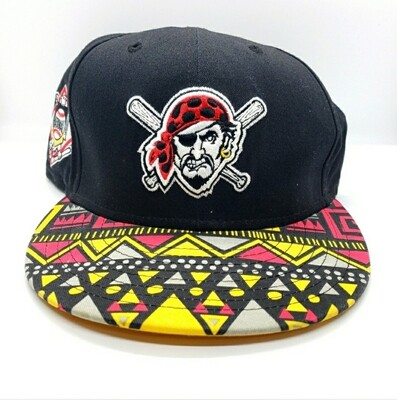 Pittsburgh Pirates Aztec Snapback Hat