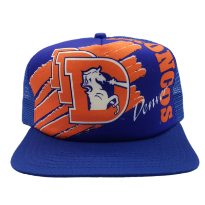 New Era Denver Broncos Snapback Trucker Hat