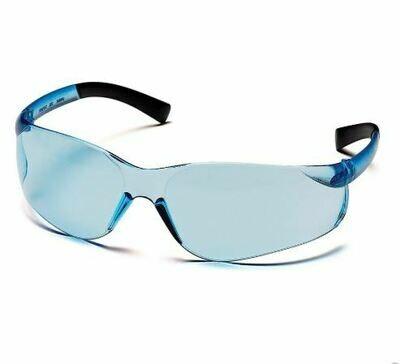 Safety Glasses, Ztek, Infinity Blue