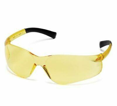 Safety Glasses, Ztek, Amber
