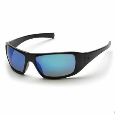 Safety Glasses, GOLIATH, Ice Blue
