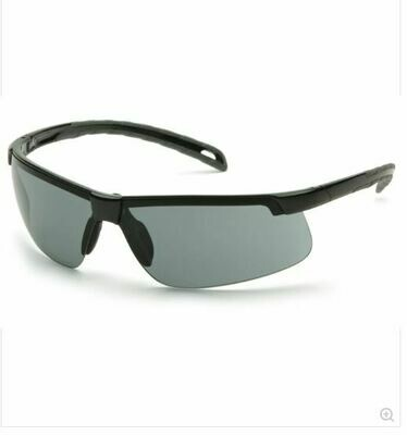 Safety Glasses, Ever-Lite, Gray