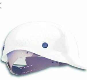 Bump Cap, North, White