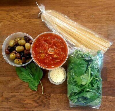 Vegetarian Linguine Kit