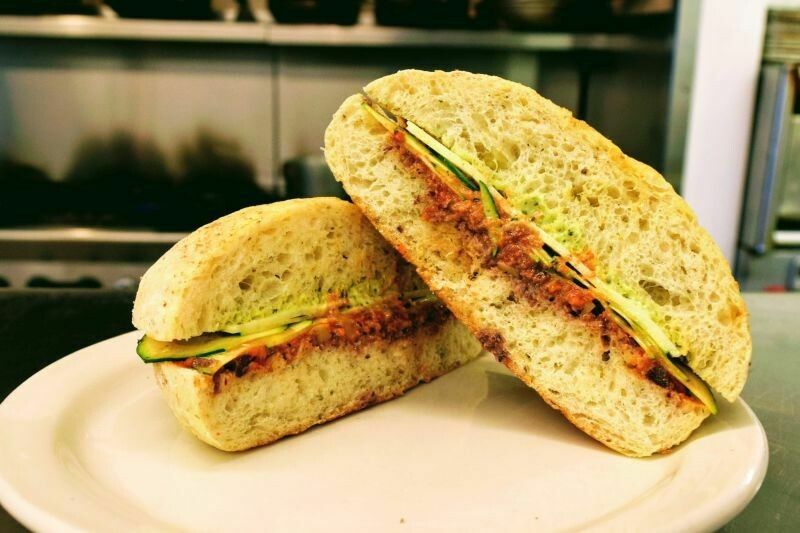 Island Star ZUCCHINI Sandwich