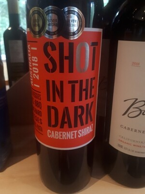 Shot In The Dark - Cab Shiraz (California)
