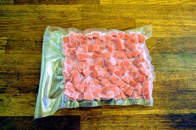 Yellow Fin Poke Tuna Cubes