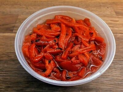 Roasted Red Pepper Slices