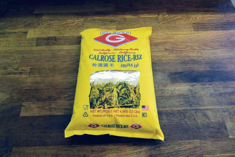 Premium Calrose Rice - 15lbs