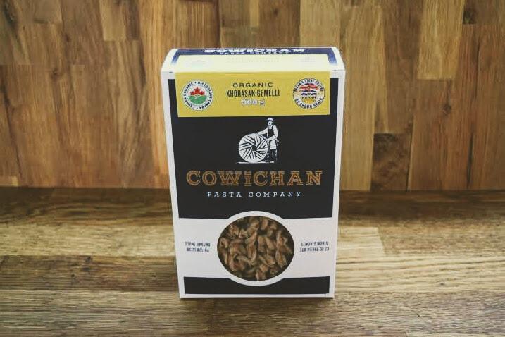 Cowichan Pasta - Organic Khorosan Gemelli