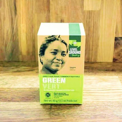 Level Ground - Green Tea
