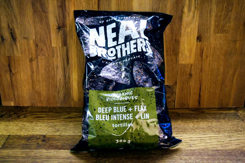 Neal Brothers Organic Deep Blue + Flax Chips