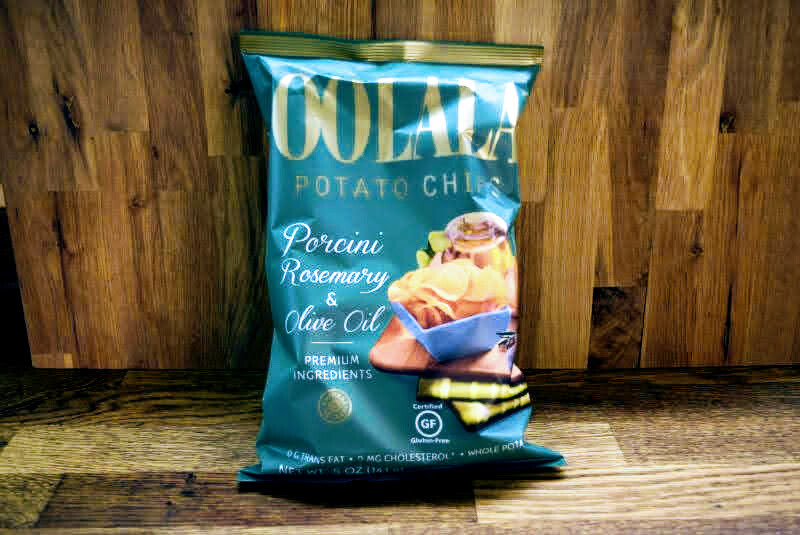 Oolala Potato Chips - Porcini Rosemary + Olive Oil