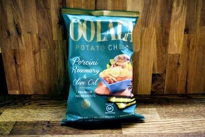 Oolala Potato Chips - Porcini Rosemary + Olive Oil