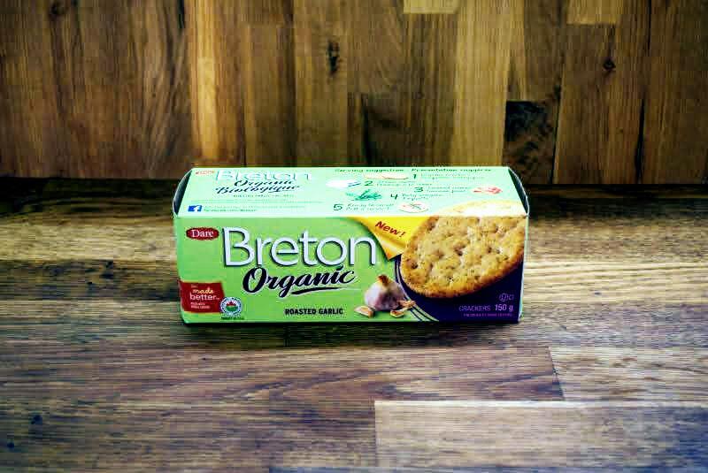 Breton - Organic Roasted Garlic Crackers