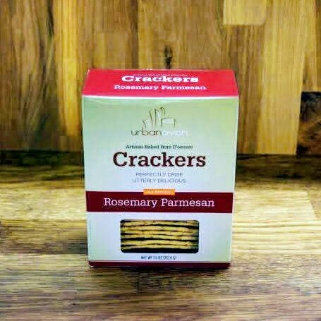 Urban Oven Crackers - Rosemary Parmesan