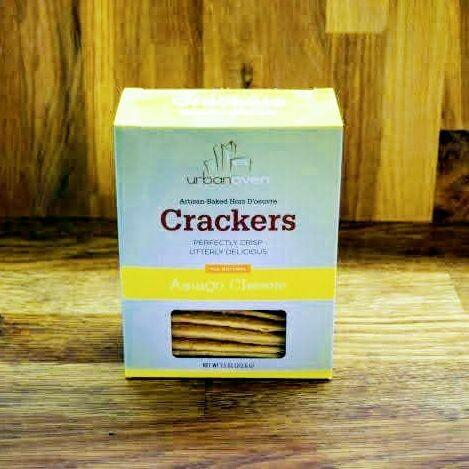 Urban Oven Crackers - Asiago Cheese
