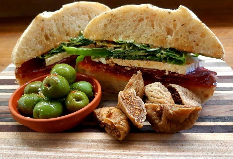 Bresaola Boss Sandwich