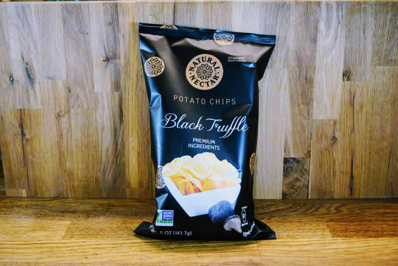 Natural Nectar Potato Chips - Black Truffle