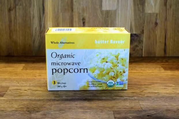 Whole Alternatives - Organic Microwave Popcorn