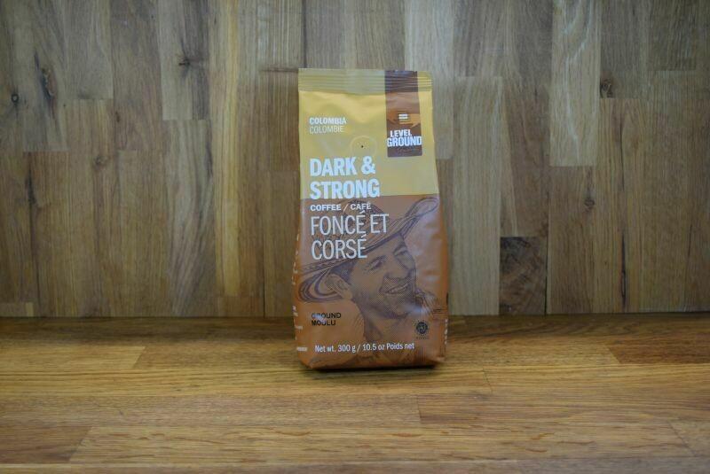 Level Ground Colombian Dark Roast Coffee - Ground