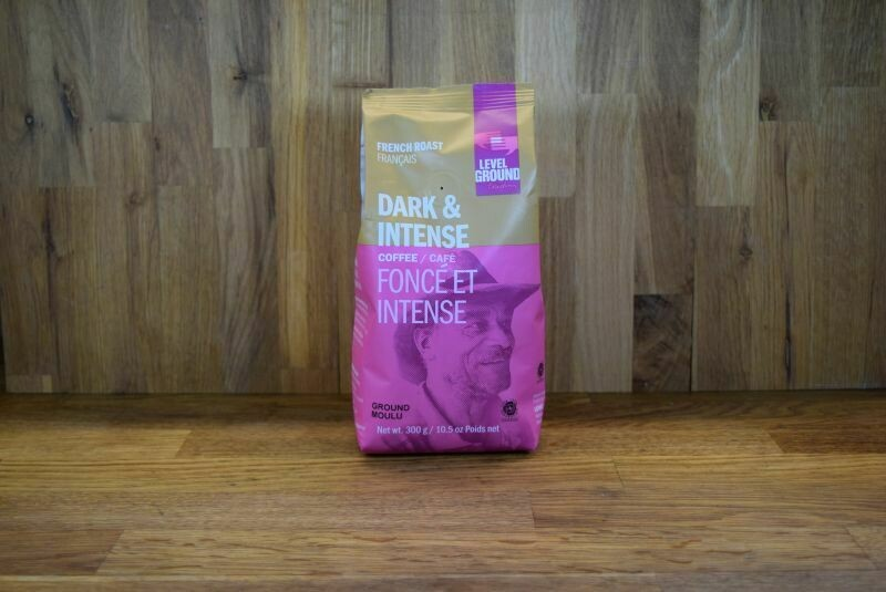 Level Ground French Dark Roast Coffee - Ground