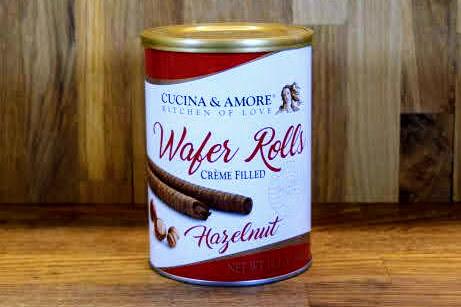 Cucina & Amore Wafer Rolls - Hazelnut