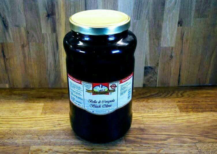 Bella Di Cerignola Olives - Black - 3L